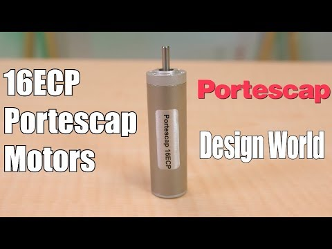 16ECP motors from Portescap: Details on their design features for medical devices and automation