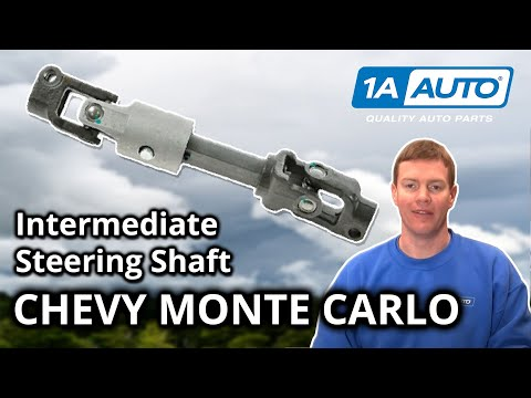 How To Fix Clunking Steering Wheel Intermediate Shaft 2000-07 Chevy Monte Carlo
