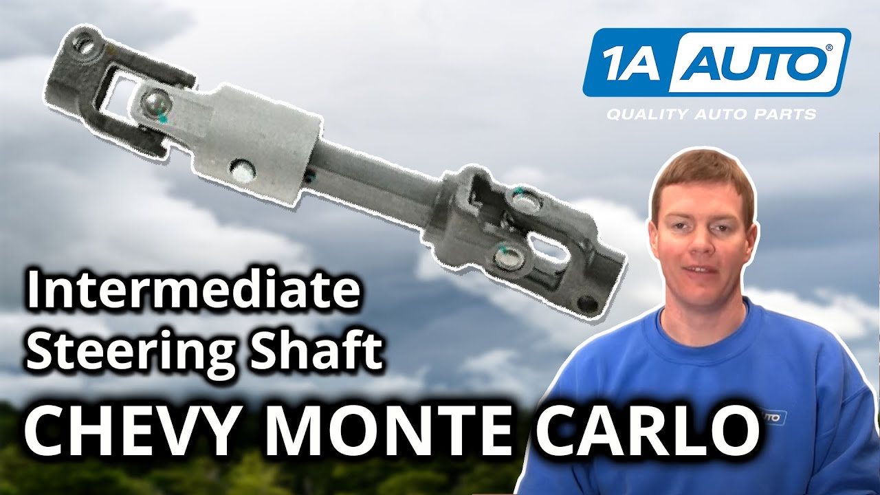 hight resolution of how to replace intermediate steering shaft 00 05 chevy monte carlo