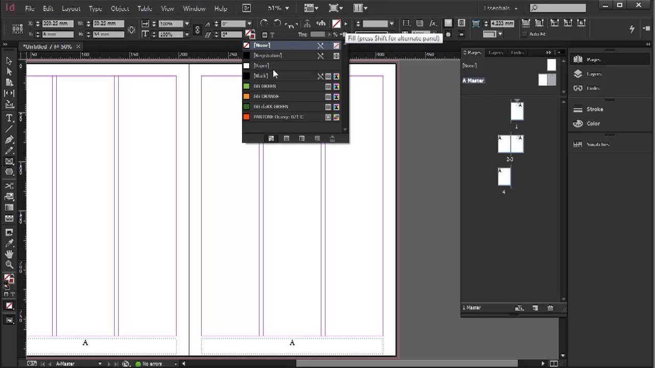 Releasing master page objects from pages - InDesign CC Tutorial [10/20]