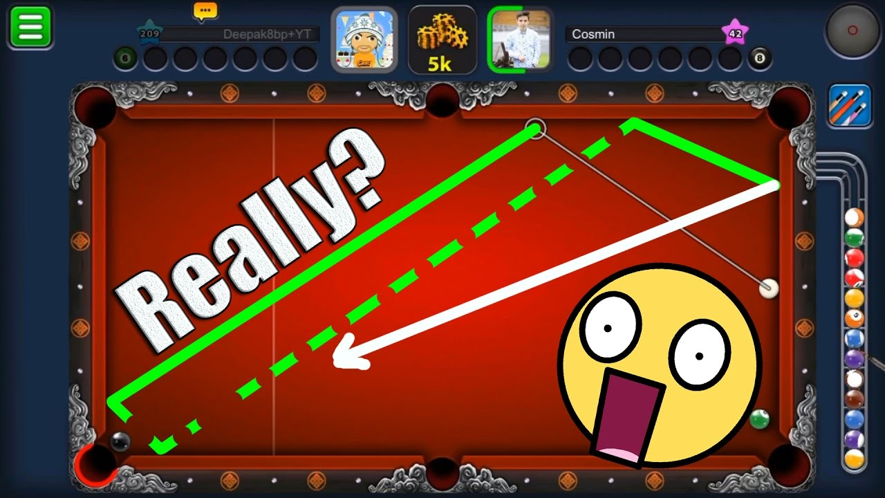 8 Ball Pool Beast Shot.? TOTAL INDIRECT HIGHLIGHTS -SUBSCRIBERS GAMEPLAY-  #3 TRICKSHOTS King Cue -