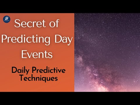 How to Predict Events of a Day?   Daily Predictive Techniques  Aaskplanets Astrology