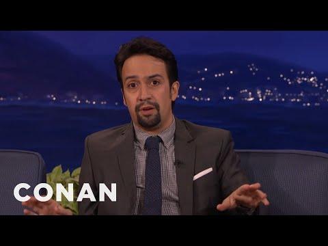 Lin-Manuel Miranda Freaked Out Meeting Weird Al  - CONAN on TBS