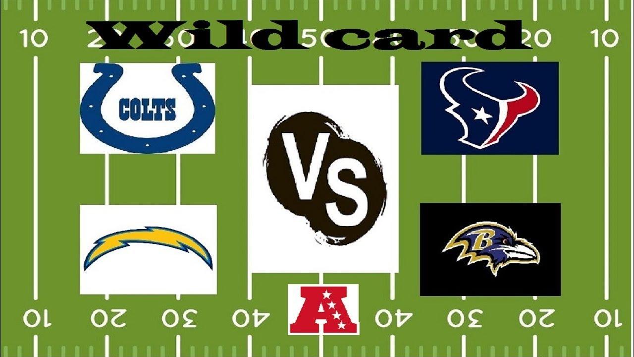 Pronosticos De Los Juegos De Comodin Wild Card De La Conferencia