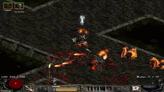 Path of Diablo S7 (Diablo 2 mod) - HC Necromancer 1 walkthrough part 4 ► 1080p 60fps No commentary