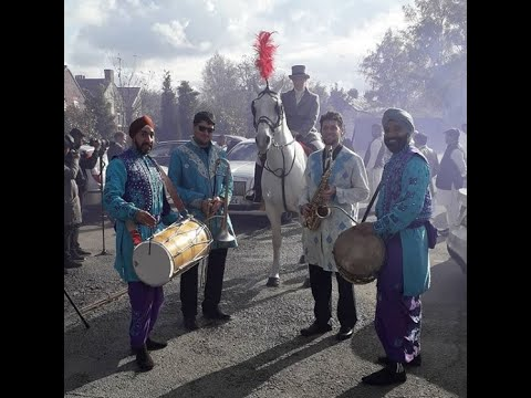 An Awesome Wedding in Chester with our Brass Band Baja Asian Dhol Drummers Manchester Lancashire UK from YouTube · Duration:  42 seconds