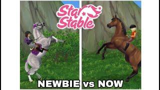Newbie Vs Now SSO Star Stable Online