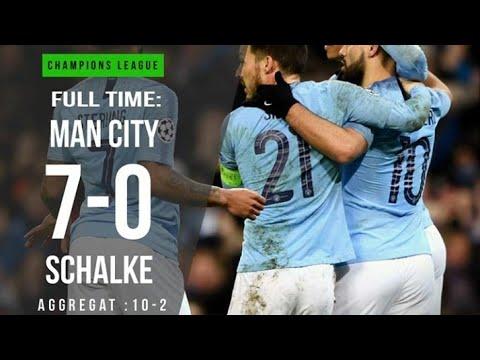 Highlight MANCHESTER CITY VS SCHALKE. UCL 2019