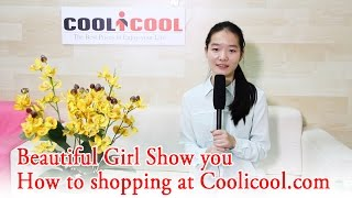 Presentation of Coolicool - How to Shopping at Coolicool.com