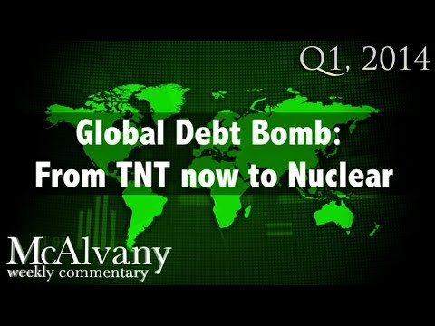Global Debt Bomb: From TNT now to Nuclear