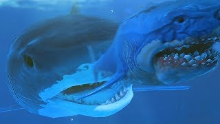 NEW TIGER SHARK vs MEGALODON! - Feed and Grow Fish - Part 116 | Pungence