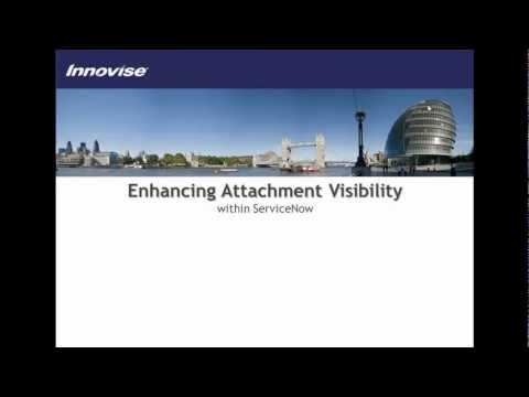 Enhancing Attachment Visibility in ServiceNow | Engage ESM