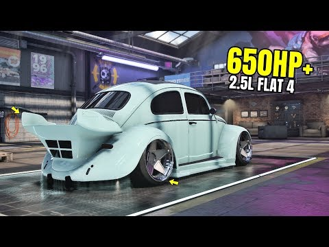 Need For Speed Heat Gameplay - 650HP+ VOLKSWAGEN BEETLE Customization | Max Build 400+