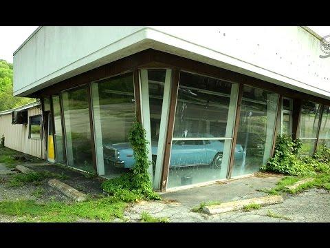 Заброшенный автосалон в США / Abandoned Motor ghost / Забытая Америка #2