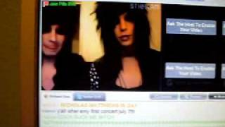 Andy Six and Jake Pitts on Stickam 9-5-10 Pt.5
