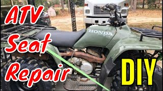 ATV 4-Wheeler Seat Repair DIY
