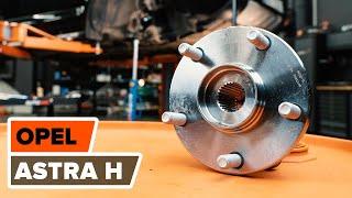 Montera Hjullager fram vänster höger OPEL ASTRA H (L48): gratis video