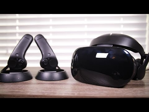 Rift/Vive Killer? Samsung HMD Odyssey Unboxing and First Impressions!