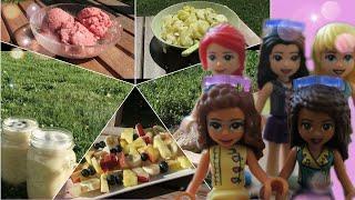 50 - 5 recettes faciles pour l&#39été avec les lego friends!