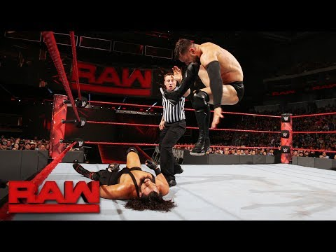 Finn Bálor vs. Bo Dallas: Raw, June 19,...