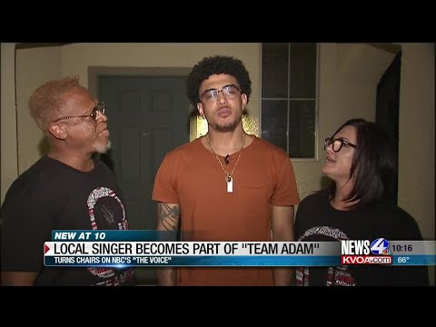"""Cyndi & Chris - Local Singer on NBC's""""The Voice Becomes Part of Team Adam!"""