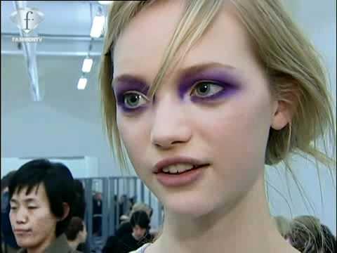 GEMMA WARD  FIRST FACE  Fashion Week New York FEM PE  2005