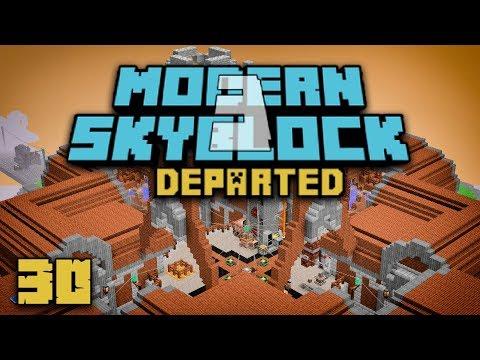 Modern Skyblock 3: Departed EP30 World Download + Diesel Generator