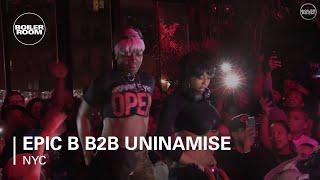Epic B b2b Uninamise Boiler Room New York DJ Set