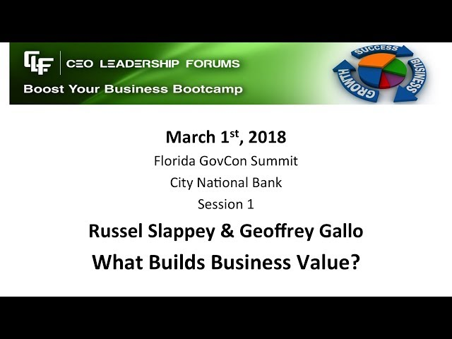 2018 03 01 GovCon Session 01 Slappey