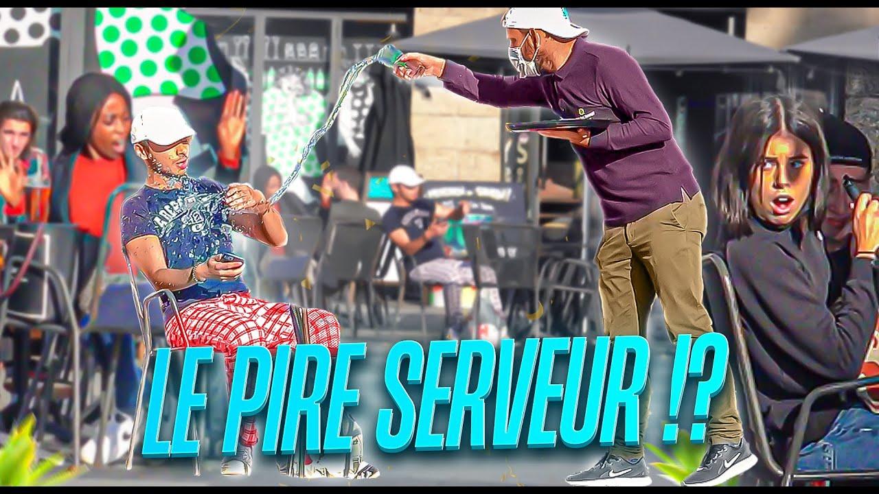 Le pire serveur feat @Nam's  - Prank - Les inachevés