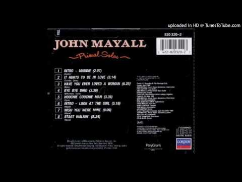 John Mayall - Primal Solos - 06 - Intro - Look At The Girl