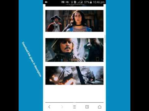 How To Download Pirates Of The Caribbean 5 2017 Full Movie Hindi Dubbed 720p HDTS 720p