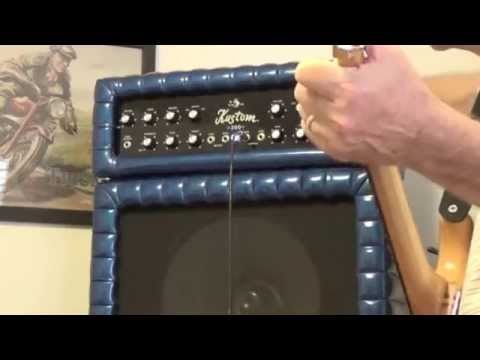 Tuck  Roll 1969 Kustom K200B-4 Guitar Amplifier with 3 x 15\