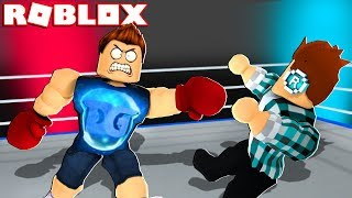 GOLPETING MY SUBSCRIBERS IN ROBLOX !! * I MAKE STRONG *