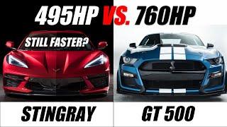 """2020 C8 Corvette Vs. Its """"Competition"""" Part 2!"""