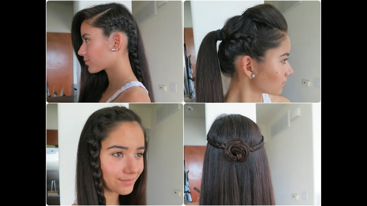 5 Easy Braided Hairstyles For Summer 2013