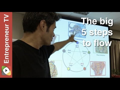 The big 5 steps to flow