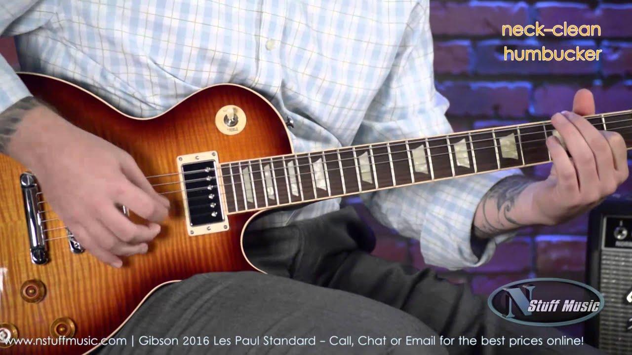 Gibson 2016 Les Paul Standard | N Stuff Music