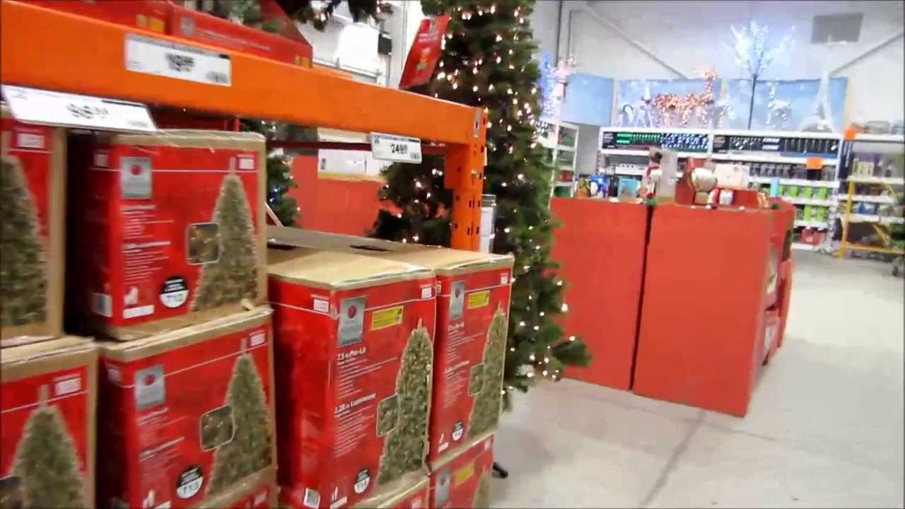 Christmas Decor Shopping At Home Depot And Wal-Mart +Mini