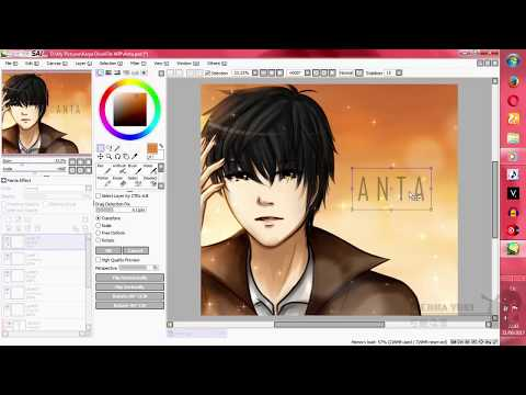Create A Text From Ms Paint To Paint Tool SAI
