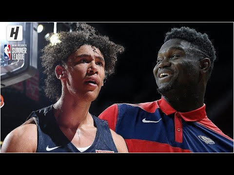 New Orleans Pelicans vs Chicago Bulls -  Game Highlights  July 8 2019 NBA Summer League