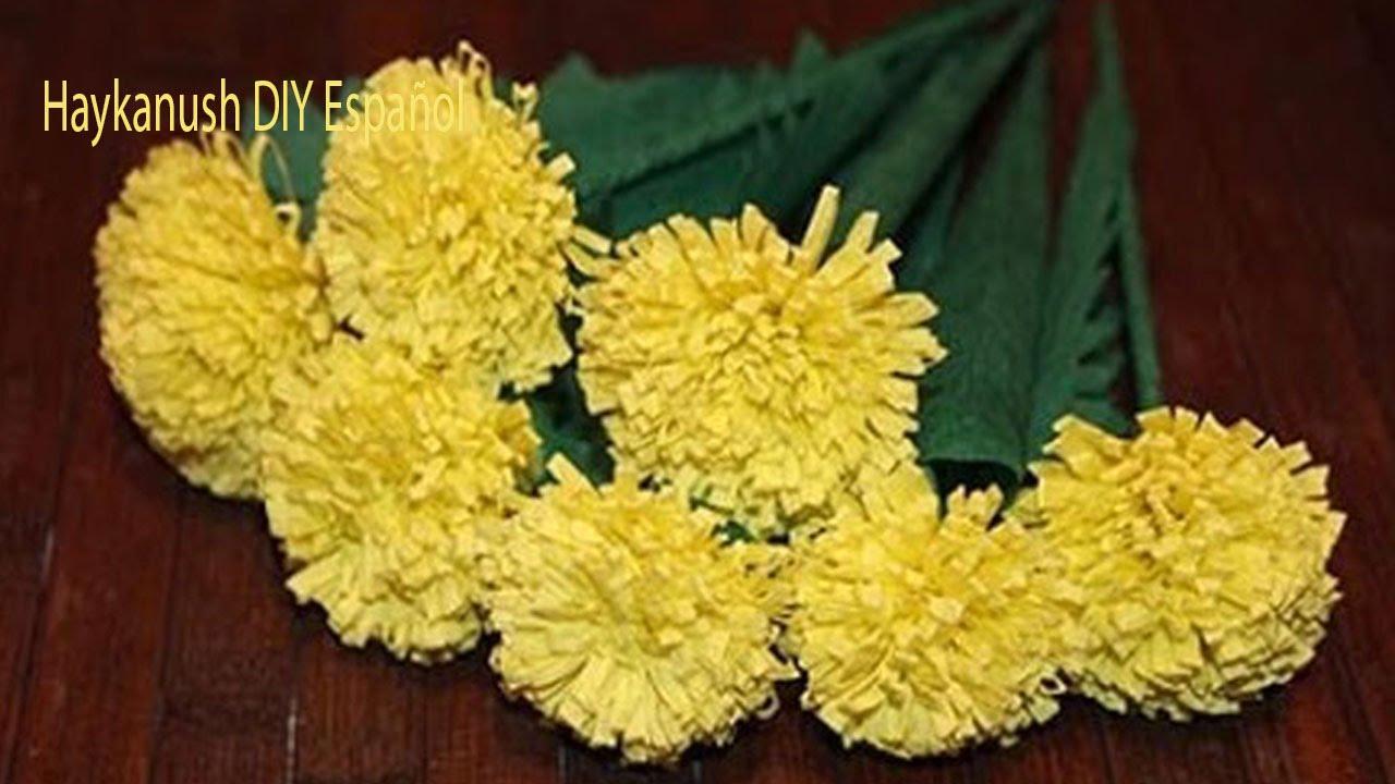 Como hacer flores de papel crepe faciles y bonitas youtube - Videos de como hacer crepes ...