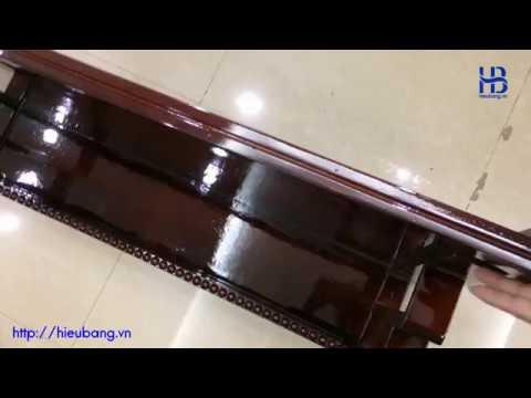 Bàn Thờ Treo Tường Chung Cư Màu Gụ Gỗ PơMu Đẹp Giá Rẻ ở Hà Nội   Cửa hàng Hiếu Bằng
