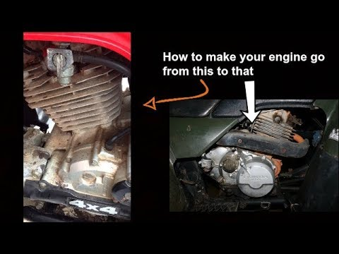 How To Get Your Atv Engine Looking New