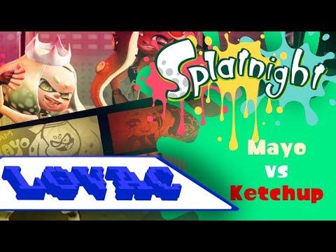 Splatfest: Mayo vs Ketchup [Splatnight!]