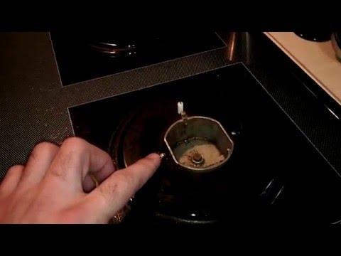 Плита с электроподжигом не загорается камфорка искрой