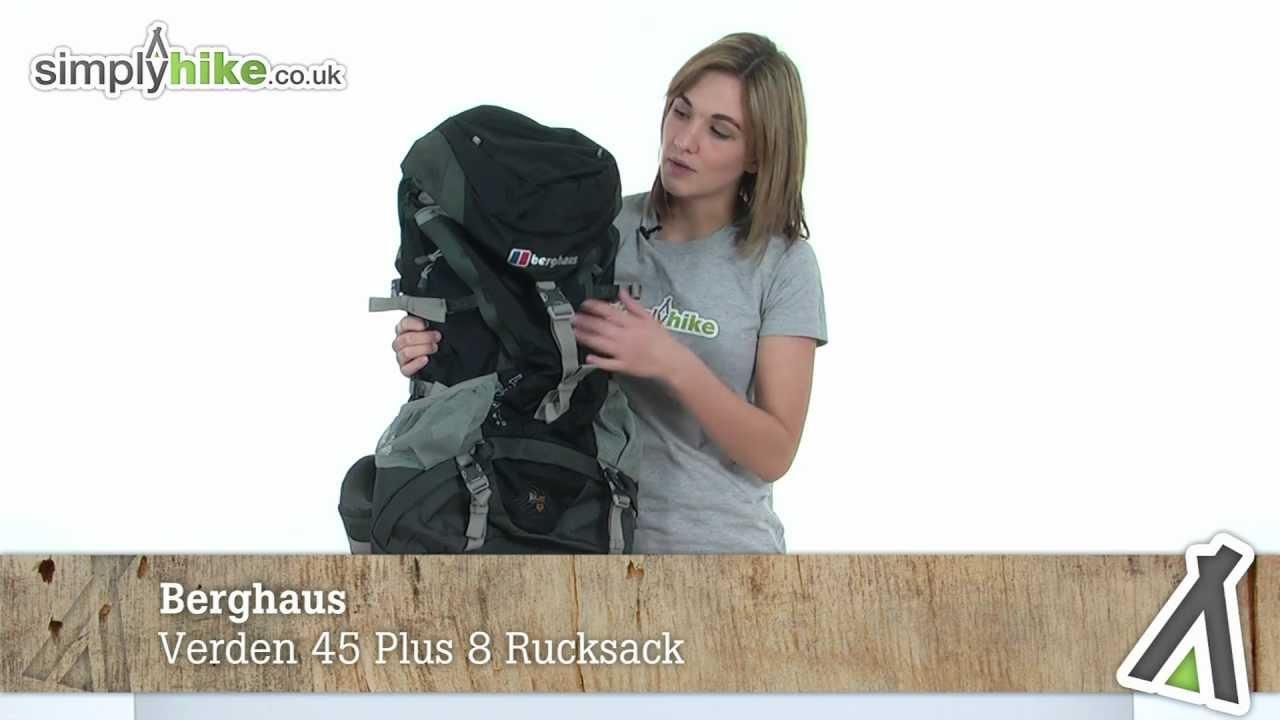 b958e8d16f356 Berghaus Verden 45 Plus 8 Rucksack - www.simplyhike.co.uk - YouTube