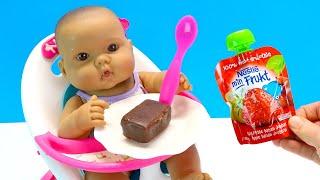 Как Мама и Бьянка Первый Раз Кушали Сырок Мультик для детей Куклы Пупсики 108мама тв
