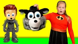 Incredibles 2 Assistant has a Monster Mission Halloween with PJ Masks and Vampirina