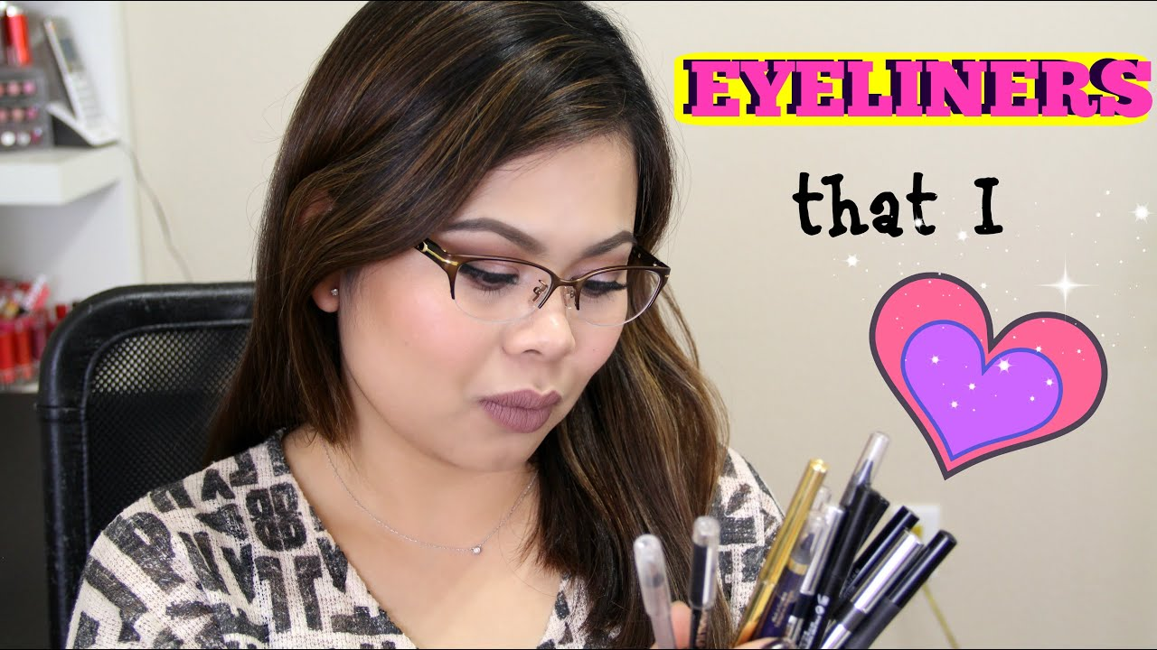 EYELINERS For Watery Eyes - YouTube